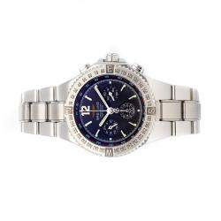 Breitling Blue Stainless Steel Hercules Chronograph A3936211/B597 Men's Wristwatch 45 MM