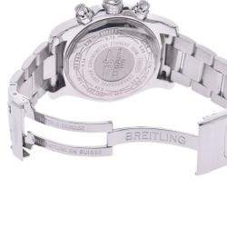 Breitling Black Stainless Steel Avenger A1338111/BC32 Men's Wristwatch 43 MM