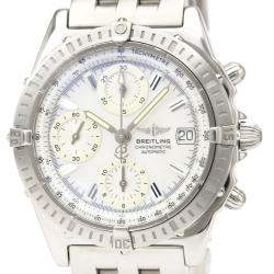 Breitling MOP Stainless Steel Chronomat Automatic A13352 Men's Wristwatch 40 MM