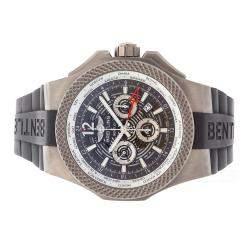 Breitling Grey Titanium Bentley GMT Chronograph EB043210/M533 Men's Wristwatch 49 MM