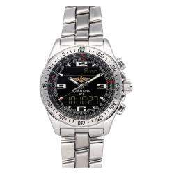 Breitling Black Stainless Steel B-1 Professional A6836223/B509 Men's Wristwatch 43 MM