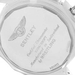 Breitling Silver Stainless Steel Bentley B05 Unitime AB0612 Men's Wristwatch 44 MM