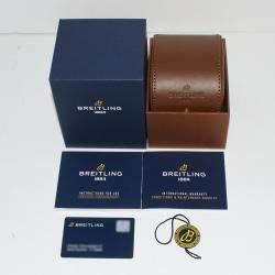 Breitling Black 18K Rose Gold And Stainless Steel Superocean Heritage '57 U10370121B1X2 Men's Wristwatch 42 MM