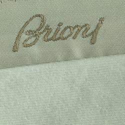 Brioni Olive Green Roman Style Wool Trousers 4XL