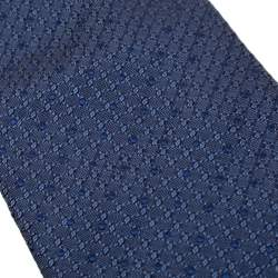 Brioni Blue Dotted Silk Jacquard Tie