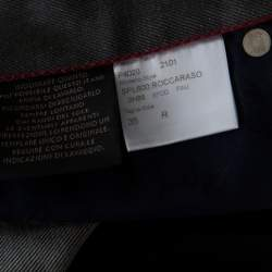 Brioni Grey Wool & Silk Blend Jeans L