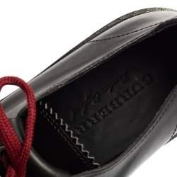 Burberry Two Tone Brogue Leather Bissett Fringe Detail Lace Up Platform Derby Size 40