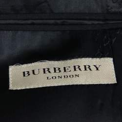 Burberry London Black Wool Classic Tailored Blazer S