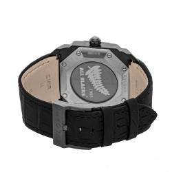 Bvlgari Black Blacksteel Octo Solotempo Maori Tattoo BGO 41 S Men's Wristwatch 41 MM