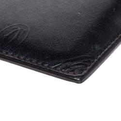 Cartier Black Leather Card Holder