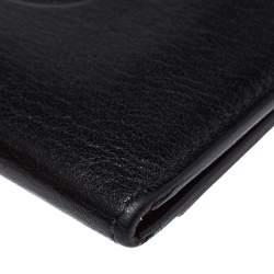Cartier Black Leather Must De Cartier Card Holder