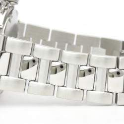 Cartier Silver Stainless Steel Pasha De Cartier W31027H3 Automatic Men's Wristwatch 38 MM
