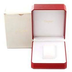 Cartier Blue 18K Yellow Gold Cougar 11651 Men's Wristwatch 32 MM