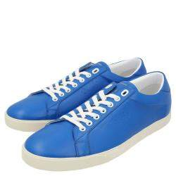Celine Blue Triomphe Low Top Sneakers  Size EU 42