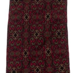 Celine Vintage Multicolor Paisley Printed Silk Tie