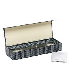 Chopard Allegro Black Resin Palladium Plated Ballpoint Pen