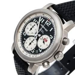 Chopard Black Titanium Happy Mille Miglia Chronograph 8407 Men's Wristwatch 40.5 MM