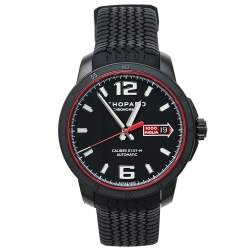 Chopard Black Stainless Steel and Rubber Mille Miglia GTS Speed Black 8565 Men's Wristwatch 43mm