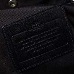 حقيبة ظهر كوتش كامبوس جلد سوداء