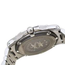 Concord Silver Diamonds Stainless Steel Saratoga SL 13.C2.230 Men's Wristwatch 34mm