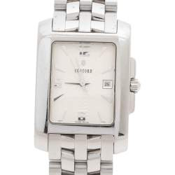 Concord Silver White Stainless Steel Sportivo 14.36.622.1 Men's Wristwatch 26 mm