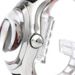 Corum Black/White Stainless Steel Bubble Joker Limited Edition Automatic 82.240.20 Men's Wristwatch 44 MM