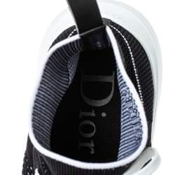 Dior Black Knit B21 Socks Hi Top Sneakers Size 45