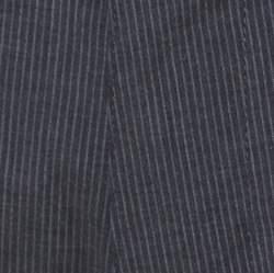 Dolce & Gabbana Grey Pin Striped Cotton Shorts S