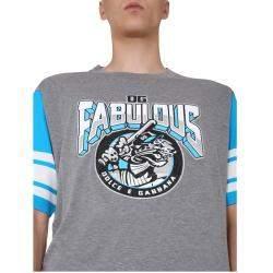 Dolce & Gabbana DG fabulous Print Jersey T-Shirt Size S