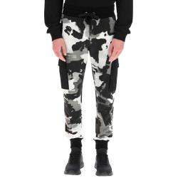 Dolce & Gabbana Multicolor Camouflage Jogging Trousers Size IT 46