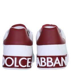 Dolce & Gabbana White Portofino Sneakers Size IT 41
