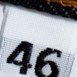 بنطلون جينز دولتشي آند غابانا 16 كلاسيك أزرق كحلي أرجل مستقيمة مقاس صغير - سمول