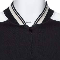 Dolce & Gabbana Monochrome Cotton Drop Shoulder Paneled Jumper 3XL