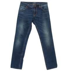 Dolce and Gabbana Gold 14 Indigo Dark Wash Denim Straight Fit Jeans S