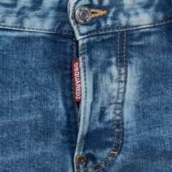 Dsquared2 Blue Denim Twist Jeans M