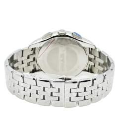 Emporio Armani Black Stainless Steel Classic Chronograph AR1786 Men's Wristwatch 44.50 mm