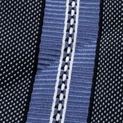 Ermenegildo Zegna Vintage Diagonal Striped Silk Jacquard Traditional Tie