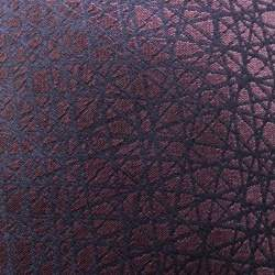 Ermenegildo Zegna Burgundy and Navy Blue Criss Cross Web Pattern Silk Jacquard Tie