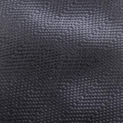 Ermenegildo Zegna Couture Black Silk Jacquard Traditional Tie