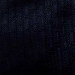 Ermenegildo Zegna Premium  Navy Blue Textured Silk Jacquard Tie