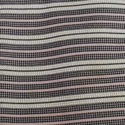 Ermenegildo Zegna Monochrome Striped Silk Tie