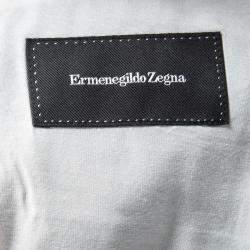 Ermenegildo Zegna Marled Cashmere Blend Blazer L