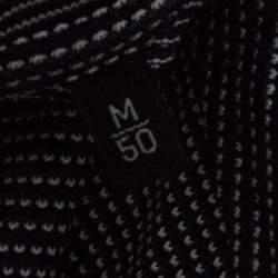 Ermenegildo Zegna Multicolor Cotton Knit Short Sleeve T-Shirt M
