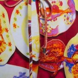 Etro Multicolor Fish Print Drawstring Detail Jogger Pants XXL