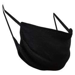 Non-Medical Handmade Black Cotton Face Mask - Pack Of 5 (Available for UAE Customers Only)