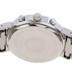 Fendi Black Stainless Steel Orologi 4500G Chronograph Men's Wristwatch 39 mm
