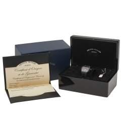 Franck Muller Black 18K Rose Gold & Titanium Leather Vanguard V 45 SC DT Men's Wristwatch 44 mm