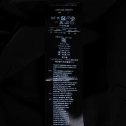 بنطلون جورجيو أرماني قصة إعتيادية صوف أسود 4XL
