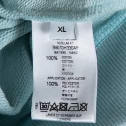 هودي جيفنشي 4جي باتش قطن أزرق ثلجي XL