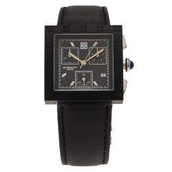 Givenchy Black Stainless Steel Apsaras Men's Wristwatch 32MM